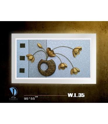 تابلو نقش برجسته مدل WL35
