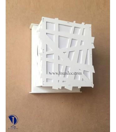 دیوارکوب چوبی کد C106W