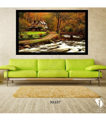 تابلو خانه جنگلی : کد N1157