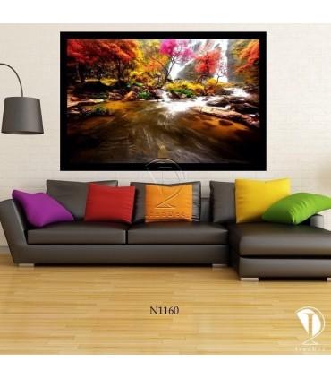 تابلو رودخانه زیبا : کد N1160