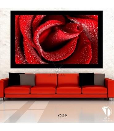 تابلو گل رز : کدC419