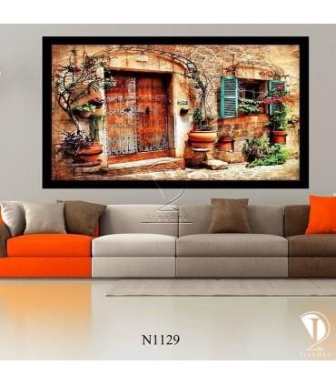 تابلو  خانه زیبا : کد N1129