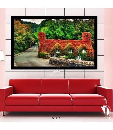 تابلو خانه زیبا : کد N1132