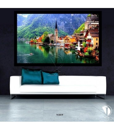 تابلو طبیعت زیبای اتریش : کد N1019