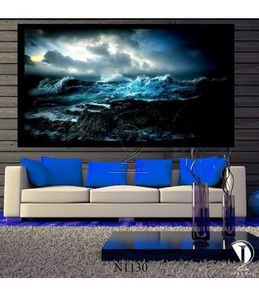 تابلو موج خروشان : کد N1130