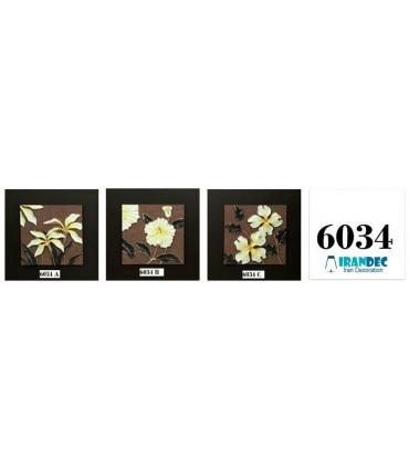 تابلو گل برجسته کد K6034