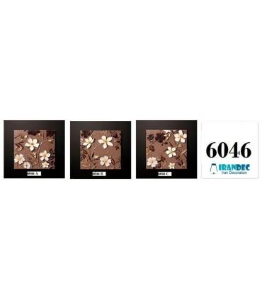تابلو گل برجسته کد K6046