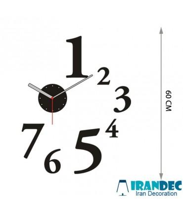 مشخصات فنی ساعت دیواری عدد بزرگ