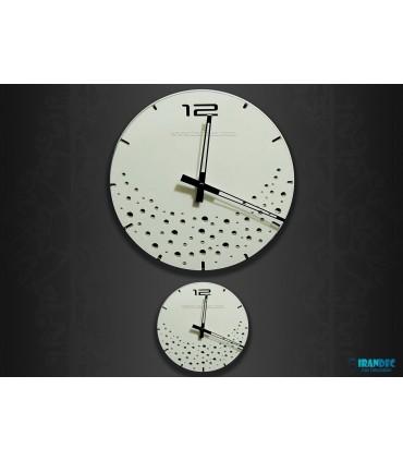 ساعت دیواری مدل بارانا ( سفید )