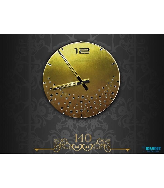 ساعت دیواری مدل بارانا ( طلایی )