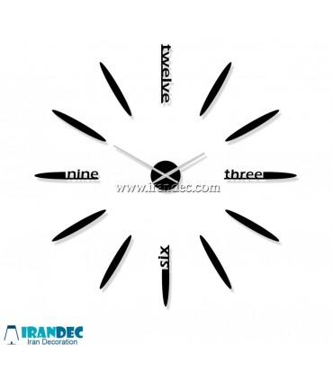 مشخصات فنی ساعت دیواری لوکس کد 300