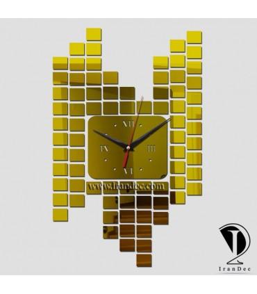 ساعت دیواری مدرن مدل مربعی